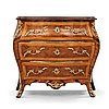 A swedish rococo commode by petter gyllenberg (master in stockholm 1767-85).