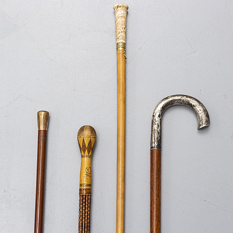 Four kanes, mostly 19th century