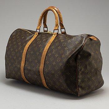 "LOUIS VUITTON, weekendbag ""Keepall 50""."