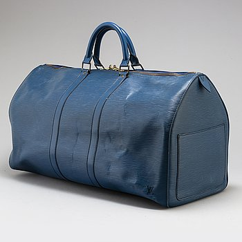 "LOUIS VUITTON, weekendbag, ""Keepall 55 Epi""."
