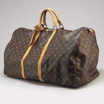 A Louis Vuitton 'Keepall 60' weekend bag.