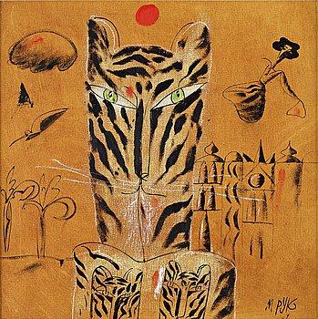 """613. Madeleine Pyk, """"Tiger""""."""