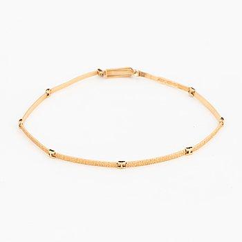 bracelet 14K gold, Finland 1980.
