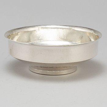 CLAËS GIERTTA, a sterling silver bowl, Stockholm 1984.