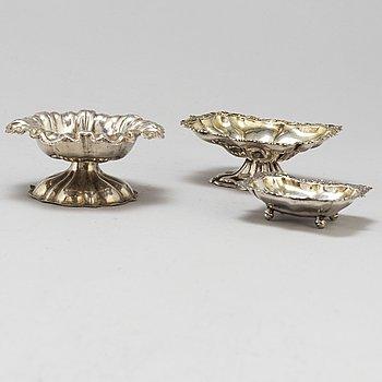 SALTKAR, 3 st silver, Moskva 1800-tal.