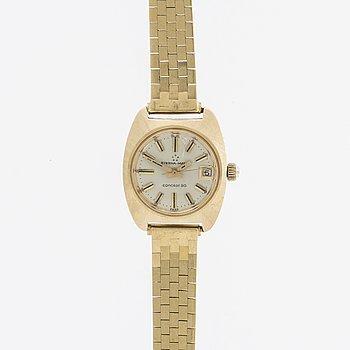 ETERNA-MATIC Concept 80 armbandsur 18K guld ca 2,2x2,8 cm.