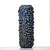 "Axel salto, a monumental stoneware ""budding style"" vase, royal copenhagen, denmark 1959."