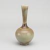 A stoneware vase by berndt friberg for gustavsbergs studio