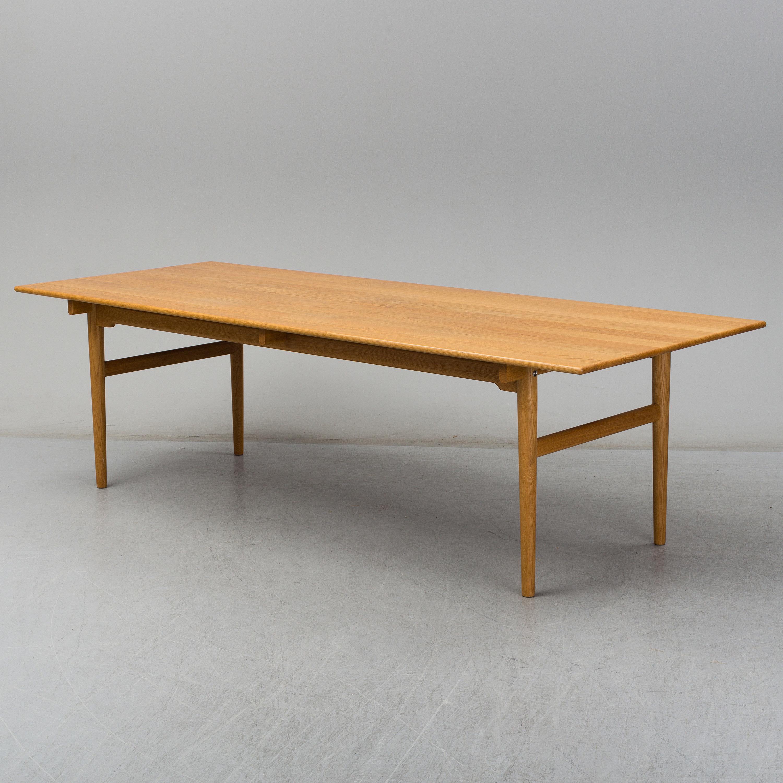 Hans J Wegner An Oak Model Ch327 Dining Table From Carl Hansen Son Denmark Bukowskis