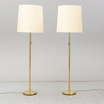 FASCHIAN golvlampor, ett par, 1970-tal.