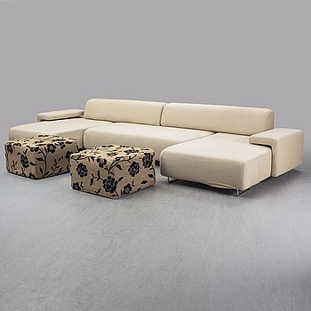 a 'Lowland' sofa by Patricia Urquiola for Moroso, Italy.