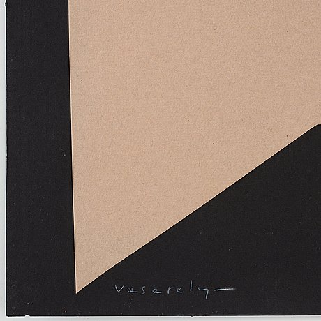 Victor vasarely, untitled.