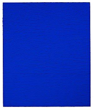 "568. Yves Klein, ""Untitled Blue Monochrome, (IKB 321)""."