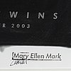 Mary ellen mark, exhibition print, stamped signature, hasselblad center, göteborg, 2003.