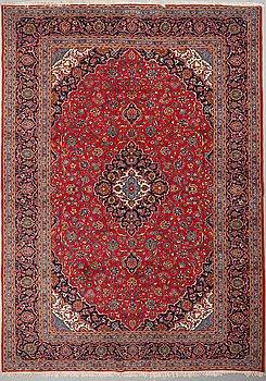 A CARPET, Kashan, around 410 x 295 cm.
