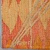 """Barbro nilsson, vävd tapet, """"linjenät - elektriska linjenätet"""", gobelängvariant, ca 244,5 x 109,5 cm, signerad ab mmf bn."""