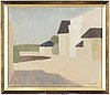 Axel kargel, oil on canvas on bord, signed a. kargel.