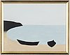 Axel kargel, oil on canvas on board, signed a. kargel.