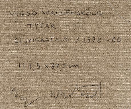 """Viggo wallenskÖld,""""daughter""""."""
