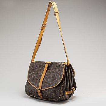 """LOUIS VUITTON, väska """"Saumur 35""""."""