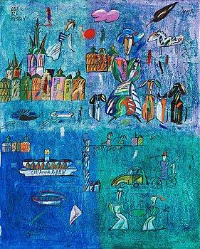 """612. Madeleine Pyk, """"Den blå mössan""""."""