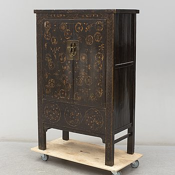 An Asian cupboard, second half of the 20th century.