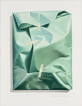 YRJÖ EDELMANN, a colour lithograph, signed and numbered E.A.XII/XXXVI.