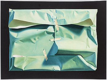 YRJÖ EDELMANN, colour lithograph, signed and numbered 214/360.