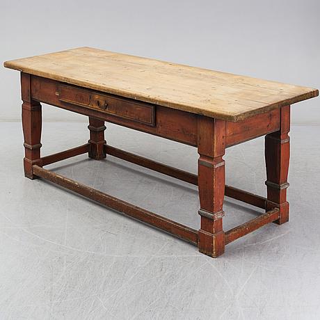 An 18th century baroque table
