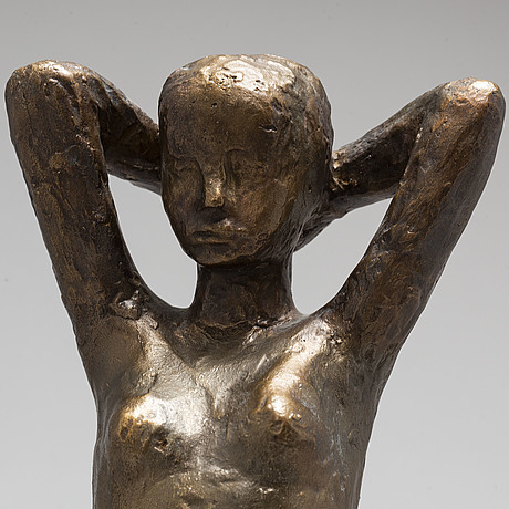 Ivar Ålenius-bjÖrk, sculpture, bronze. signed and numbered.