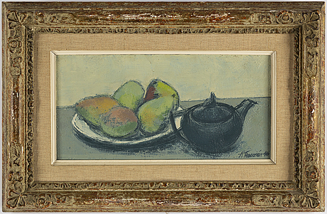 Helge franzén, oil on canvas, signed and dated -46.
