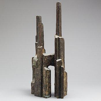 FOLKE TRUEDSSON, sculpture, bronze, signed 1/10.