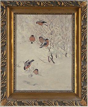 CARL JOHAN DANIELSON, oil on canvas, signed.