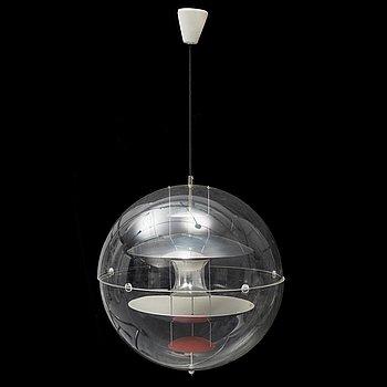 VERNER PANTON,  taklampa, VP-globe, Louis Henningsen, 1970-tal.