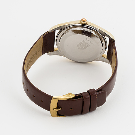 Universal genÈve, polerouter, armbandsur, 35.5 mm