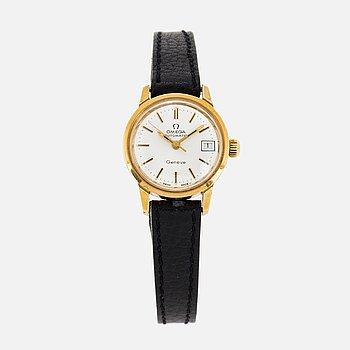 OMEGA, Automatic, Genève, wristwatch, 22 mm.