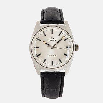 OMEGA, Genève, wristwatch,  34.5 mm.