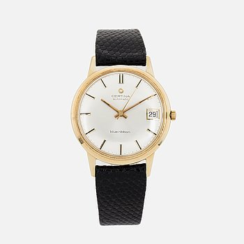 CERTINA, Blue Ribbon, wristwatch, 34 mm.