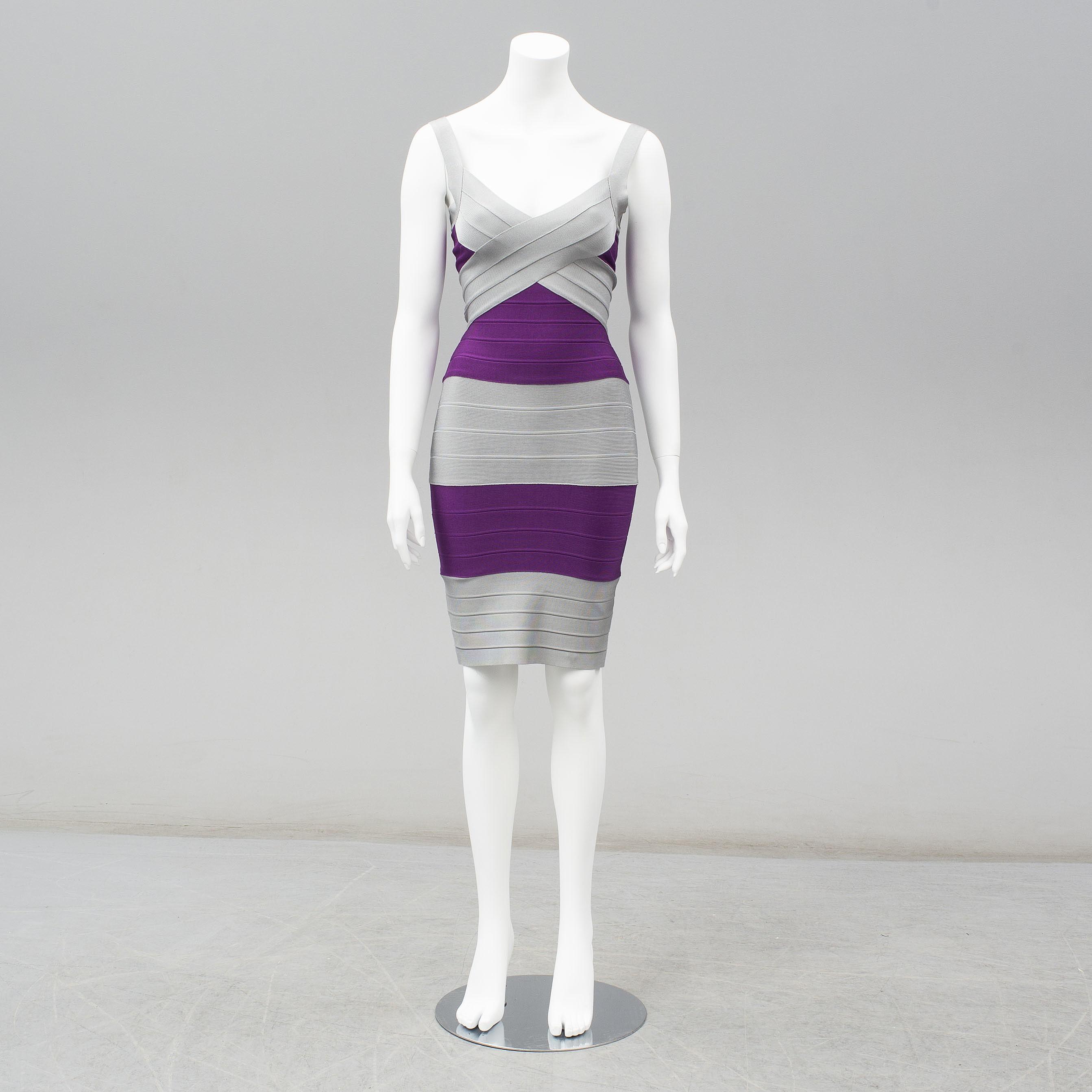 ebb91ddcb5c5 HERVE LEGER, klänning, storlek XS. - Bukowskis