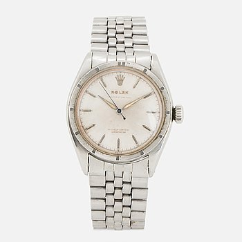"ROLEX, Oyster Perpetual, Chronometer, ""Semi Bubble Back"", wristwatch, 34,5 mm."