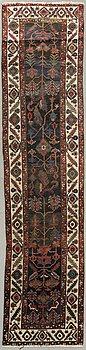 A semiantique  West Persian runner ca 407 x 98 cm.