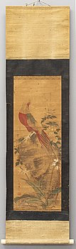 UNIDENTIFIED ARTIST, ink and color on paper, Qing dynasty.