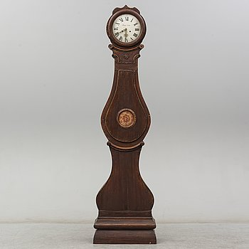 A Swedish late 18th or first half of the 19th century longcase clock.