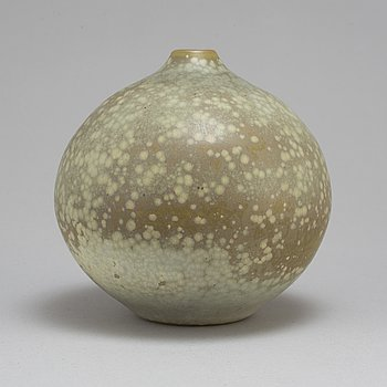 CARL-HARRY STÅLHANE, a unique stoneware vase, signed and dated Rörstrand 1947.