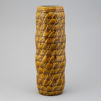 A third quarter of the 20th century stoneware vase by Gunnar Nylund for Rörstrand.