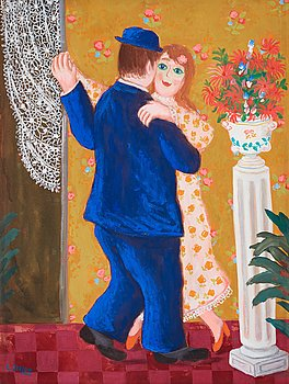 616. Lennart Jirlow, Dancing couple.