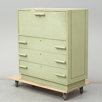 A first half of the 20th Century painted bureau.