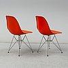 Charles & ray eames, 8 'dsr' chairs, vitra
