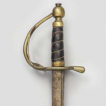 A Danish cavalry sword 1813 pattern.