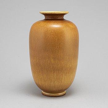 A stoneware vase by Berndt Friberg from Gustavsberg 1960.